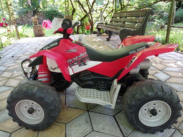 Дитячий квадроцикл Peg-Perego Polaris Outlaw б/у у відмінному стані