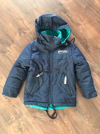 Осеняя куртка на мальчика 4-6 лет