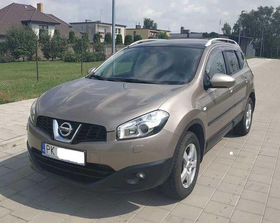 Nissan Qashqai+2 benz.+gaz - prywatnie, bardzo bogato wyposażony !!!