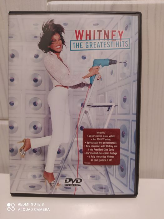 Koncert dvd Whitney the gratest hits Katowice - image 1