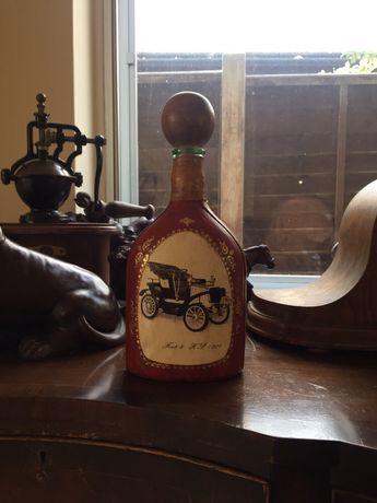 Butelka ozdabiana skora, Fiat 8 HP, 1901, antyk, kolekcjonersk