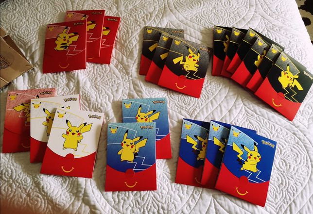 Booster McDonald's Pokémon 25th Anniversary - Cartas Pokémon