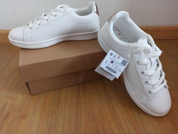 Białe buty BERSHKA roz. 36