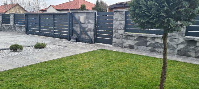 Bramy furtki ogrodzenia aluminiowe