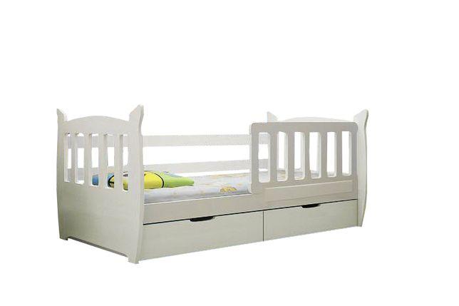 Nowe łóżko pojedyncze MIKY! Materac gratis! Pojemne szuflady