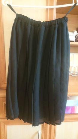 Czarna plisowana spódniczka uniwersalny rozmiar S/M/L