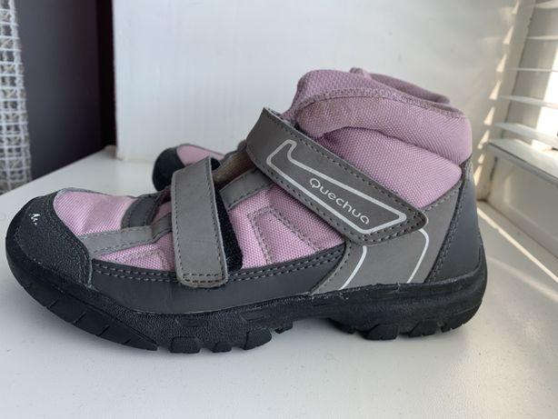 Демисезонные ботинки для девочки, 31, 20, Quechua, демісезонні черевик