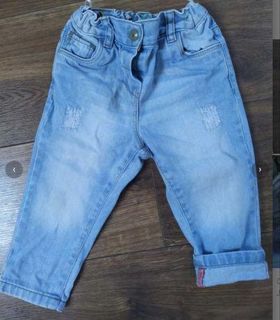 Spodnie dżinsowe dla dziewczynki