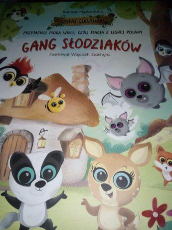 Książka Gang slodziakow, przyjaciele mogą wiele