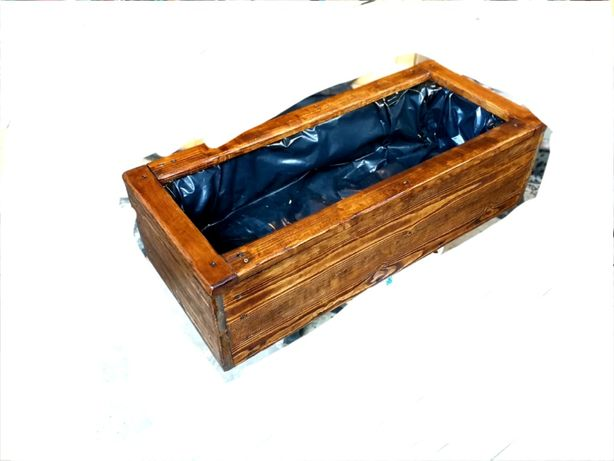Doniczka drewniana 80x30x30 donica