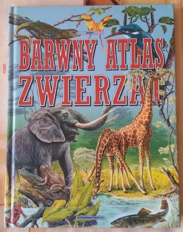 Barwny atlas zwierząt wydawnictwo RTW