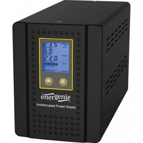 Інвертор EnerGenie EG-HI-PS1000-01 LCD 1000ВА під зовнішню батарею