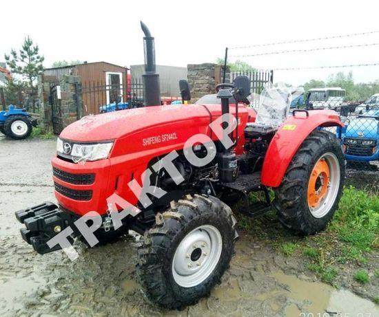 Трактор Шифенг Shifehg SF 244 CL Широкі колеса Гарантія 2 р Кредит