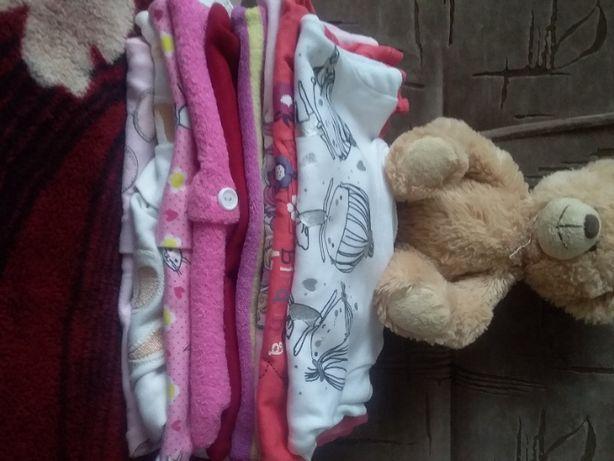 Великий пакет одягу для дівчинки