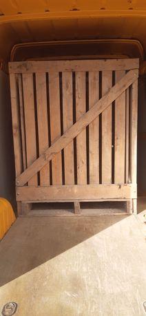 Skrzyniopalety drewniane 120x115x150