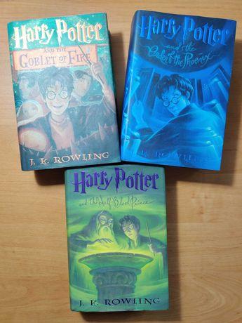USA / Twarda / Harry Potter 4-6 / Rowling