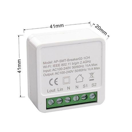 Gniazdko Włącznik Przekaźnik WiFi TUYA / Smart Life