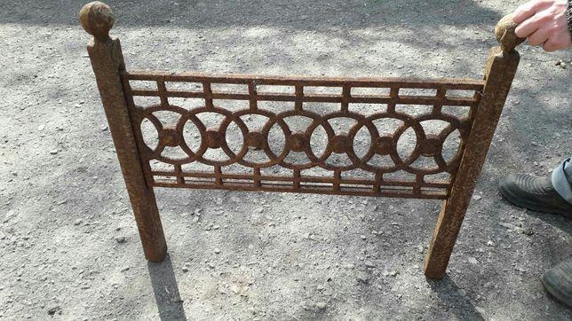 Продам чугунный забор-оградку. Цена за секцию 350грн.