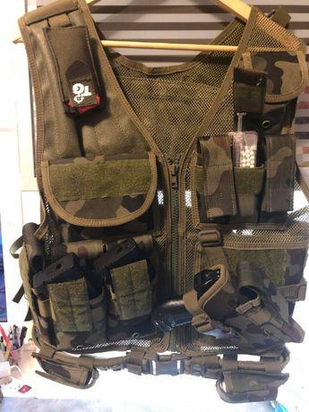 Kamizelka taktyczna KAM-39 - wz.93 pantera leśna