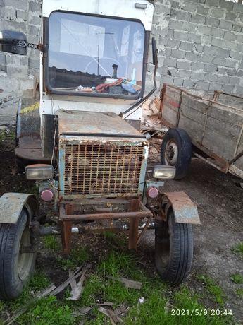 Саморобний трактор