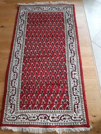 Wełniany gruby dywan dywanik turecki wzór orientalny okazja