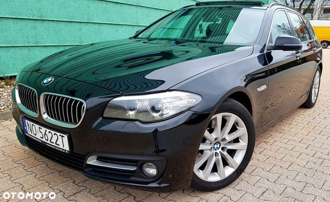 BMW Seria 5 Xdrive 4x4_Zadbana_Lift_Alu18_Navi Prof_Skóra_Panorama _Serwis