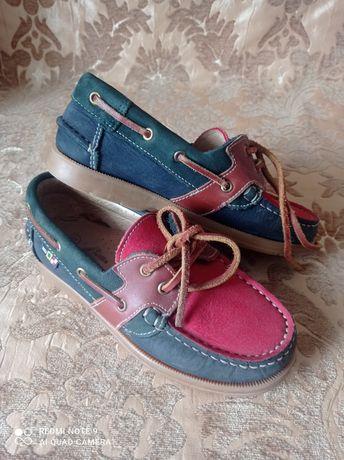 Туфли для мальчика, кожа