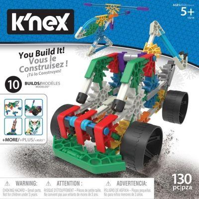 K'nex klocki konstrukcyjne 10 w 1 wiek: 5-10 lat