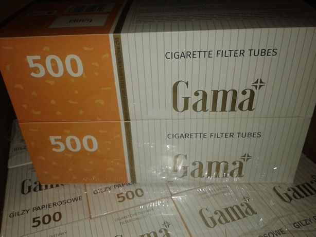 Гильзы для сигарет GAMA 500шт Лучшая цена сигаретные гильзы