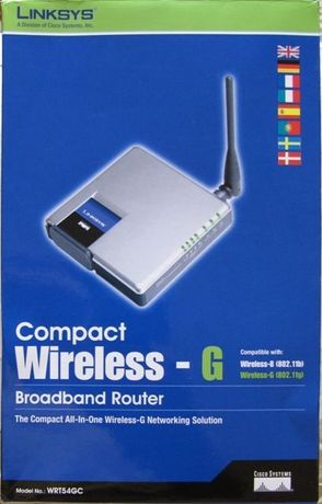 Router Wireless-G Linksys