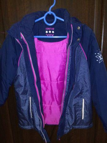 Отличная куртка V. E. K с подстежкой теплее Reima и Lenne.