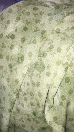 отрез ткани крепдешин, ткань крепдешин