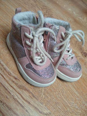 Buty botki dziecięce H&M r. 22