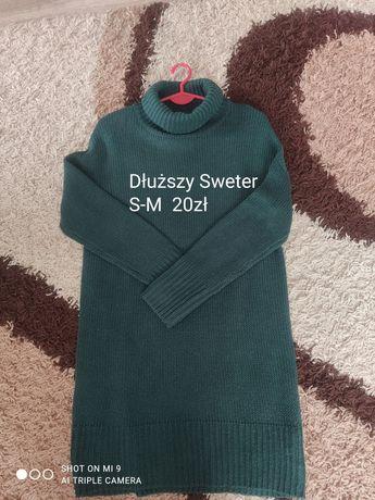 Dłuższy sweter S