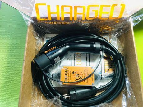 Зарядная станция зарядка ChargeU Nissan Leaf, Volt, Лиф, Tesla, Тесла