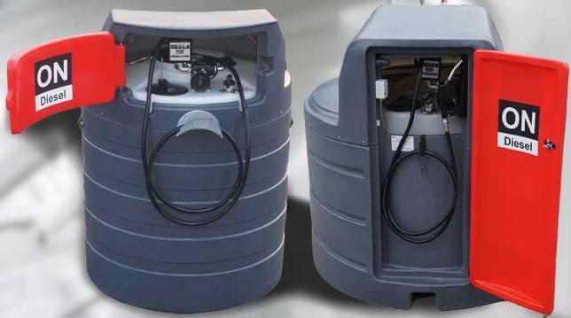 Zbiornik dwupłaszczowy na paliwo paliwa 1500L 2500L MD