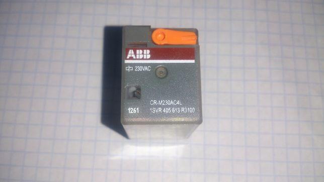 Реле промежуточное CR-M230AC4L (ABB/Germany).