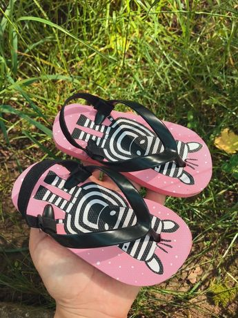Шлёпки детские 21 размер, дитяче взуття на літо, вьетнамки 14 см