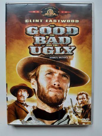 """Western na DVD """"Dobry, zły i brzydki"""". Clint Eastwood"""