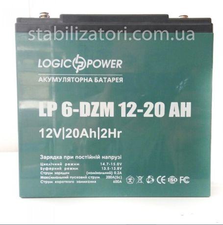 Тяговый аккумулятор для электроcкутера LogicPower LP 6-DZM-20