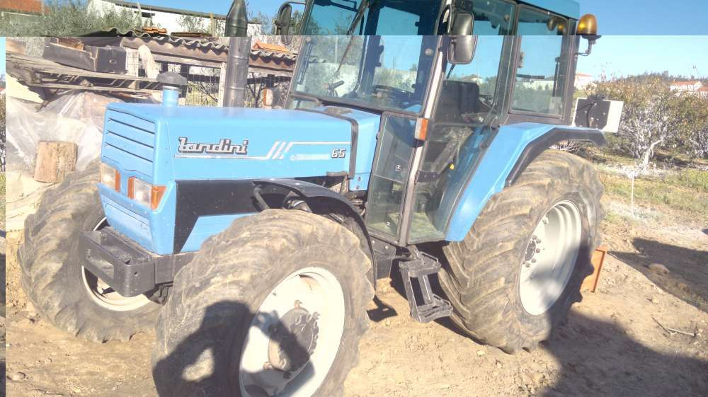 trator landini 65cv 4x4 de 1999 tractor Colmeias E Memória - imagem 1