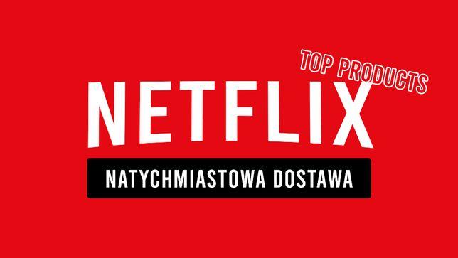 NETFLIX 30 DNI TV/PC/PS/XBOX - HBO GO i Spotify - Autowysyłka 24