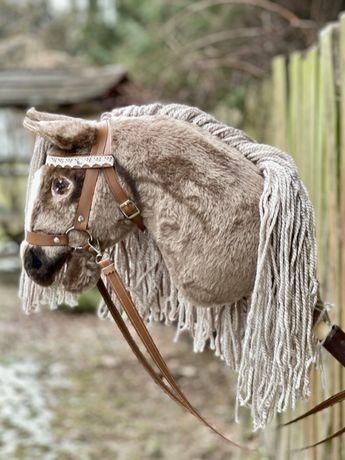 Hobby Horse / Konik na patyku - MYSZATY jasna grzywa