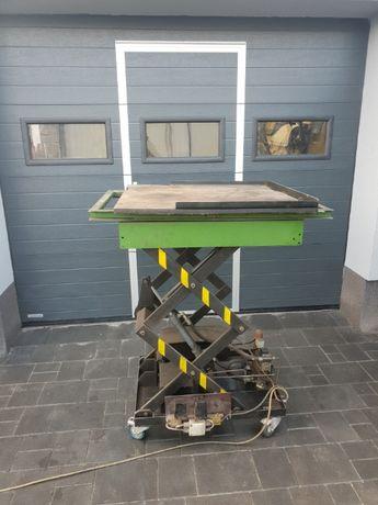 Podnośnik warsztatowy obrotowy, nożycowy, mobilny, stół roboczy