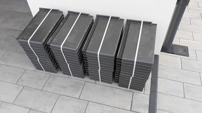 Dachówka meyer holsen piano czarny łupek na sztuki
