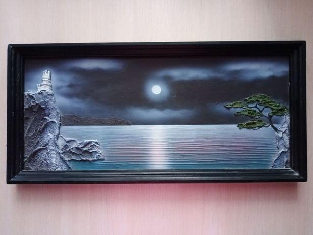 "3D картина ""Ночной пейзаж"""