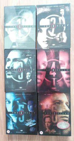 DVD's The X Files. As 6 primeiras épocas.