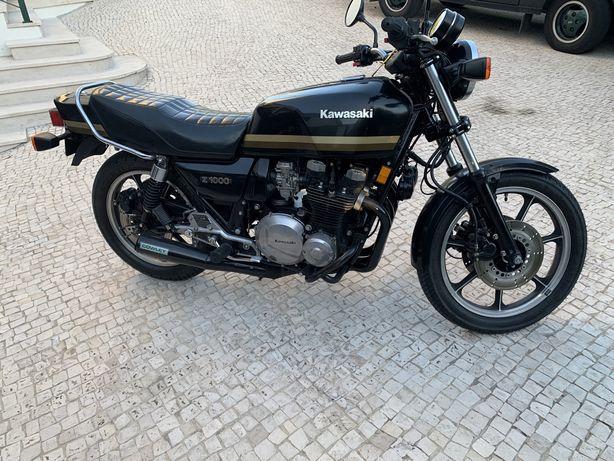 Vendo Kawasaki Z1000 clássica