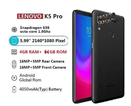 Смартфон LENOVO K5 Pro Black 4/64 НОВЫЙ!