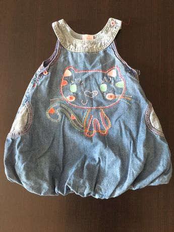 Jeansowa sukienka Cherokee